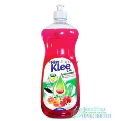 Средство для мытья посуды Klee Грейпфрут и гранат 1л