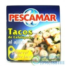 Осьминог в чесночной маринаде Pescamar Tacos de Cefalopodo al Ajillo 266 г
