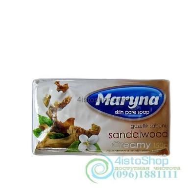 Мыло увлажняющее Maryna Сандал 150г