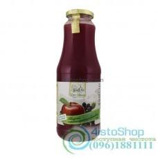Сок яблочно-черноплодно арониевый Дари Поділля неосветленный пастеризованный 1л