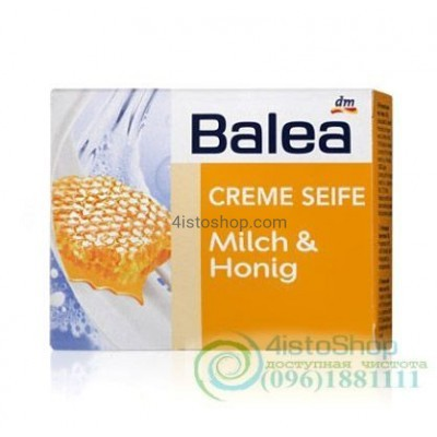 Balea creme seife крем мыло Молоко и мёд 150 г