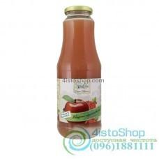 Сок яблочно-красносмородиновый Дари Поділля неосветленный пастеризованный 1л