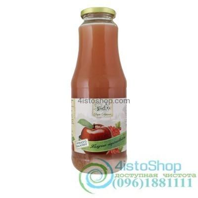 Сок яблочно-красно смородиновый Дари Поділля неосветленный пастеризованный 1л