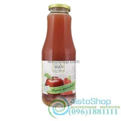 Сок яблочно–малиновый Дари Поділля неосветленный пастеризованный 1л
