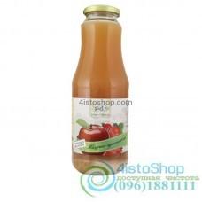 Сок яблочно-клубничный Дари Поділля неосветленный пастеризованный 1л