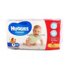 Подгузники Huggies 4 Classic 7-18 кг 50 шт
