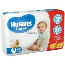 Подгузники Huggies 5 Classic 11-25 кг 42 шт