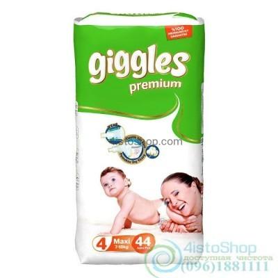 купить подгузники Giggles 4 Премиум Maxi от 7 до 18 кг 44 шт