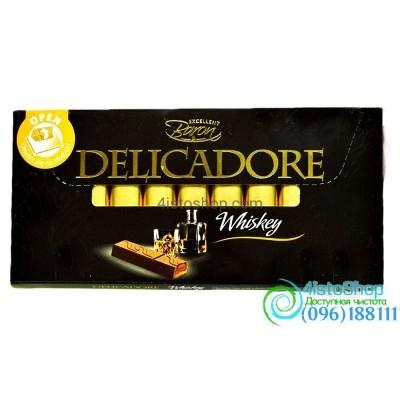 Шоколад Delicadore Виски 200г