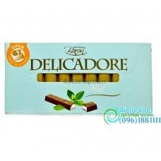 Шоколад молочный Delicadore Мята 200г