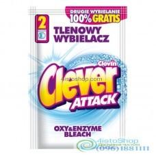 Отбеливатель Clever Attack порошок 60г