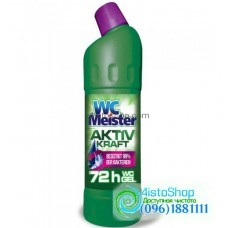 Средство для мытья унитаза WC Meister Aktiv Kraft Grun  1л