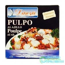 Осьминог Dinova в чесночном соусе Pulpo al Ajillo Poulpe au Ail 266г