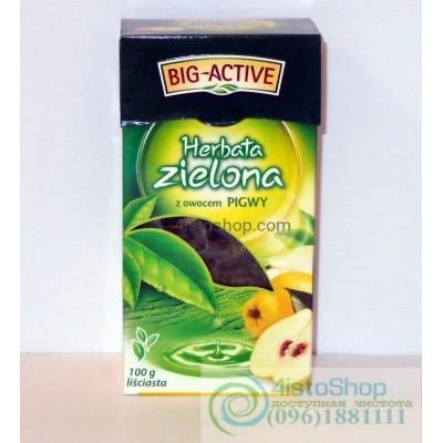 Чай зеленый Big-Active айва листовой 100г