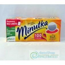 Чай черный Minutka 100 пак.