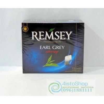Чай черный Ramsey Earl Grey Strong 75 пакетиков