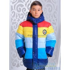 Зимняя куртка на мальчика Микс рост от 110 до 134 см