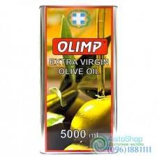 Оливковое масло Olimp Extra Virgin из зелёных оливок 5л