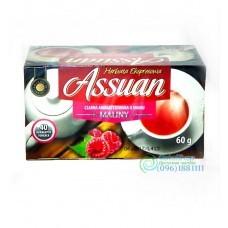 Чай черный Assuan малина 40 пак.