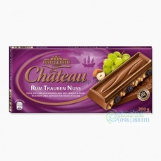 Шоколад Chateau Rum Trauben Nuss 200 г