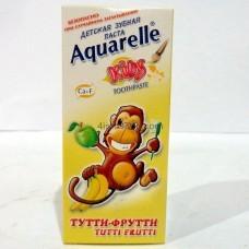 Зубная паста Aquarelle Kids Тутти-фрутти 50 мл