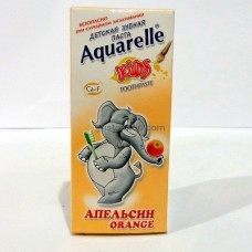 Зубная паста Aquarelle Kids Апельсин 50 мл