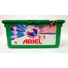 Капсулы для стирки Ariel 3 in 1 Touch of Lenor 28 шт