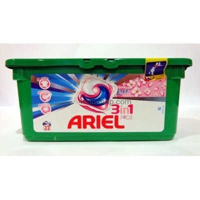 Капсулы для стирки Ariel 3 in 1 Touch of Lenor 28 шт