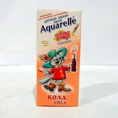 Зубная паста Aquarelle Kids Кола 50 мл