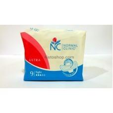 прокладки NORMAL clinik ultra fresh на 3 капли 9 шт
