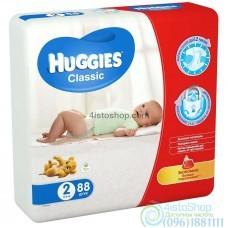 Подгузники Huggies 2 Classic 3-6 кг 88 шт