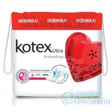 Kotex Прокладки гигиенические Ultra Dry super 8 шт