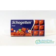 Шоколад Schogetten Nugat 100г