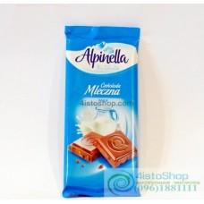 Шоколад молочный Alpinella 90г