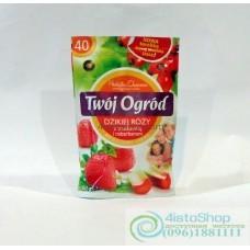 Чай фруктовый Twoj Ogrod клубника 40 пак.