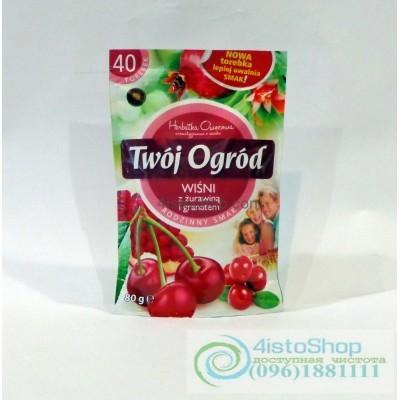 Чай фруктовый Twoj Ogrod вишня 40 пак.