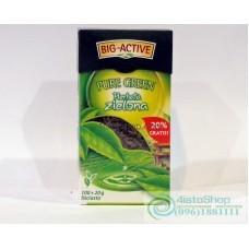 Чай зеленый Big Active 100г