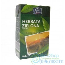 Чай зеленый Lord Nelson Herbata Zielona листовой 100г
