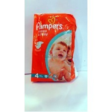 Подгузники Pampers Sleep&Play 4 (7-14 кг) 50 шт