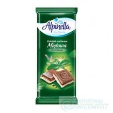 Шоколад Alpinella с мятой 100г