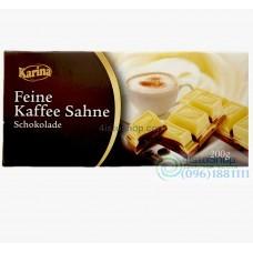 Karina Feine Kaffee Sahne шоколад с кофейным вкусом 200 г