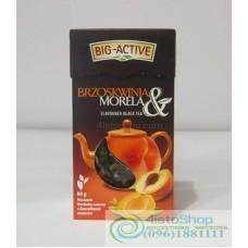 Чай чёрный Big-Active персик абрикос листовой 100г