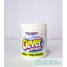 Отбеливатель Clever Attack 750 г