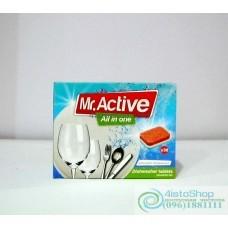 Таблетки для посудомоечных машин 3в1 Mr Active 30 шт