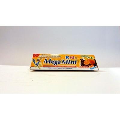 Детская зубная паста Mega Mint Апельсин и Шоколад 50мл