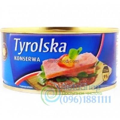 Консервы мясная Свинина Tyrolska 300 г