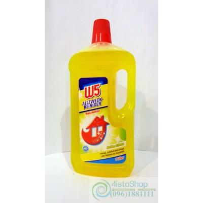 Универсальное средство для уборки дома Active citrus W5 1,25л