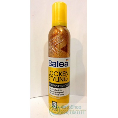 Пена для волос Balea Locken Styling 250мл
