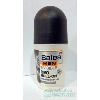 Balea men дезодорант роликовый Invisible, 50мл