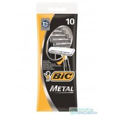 Набор одноразовых бритвенных станков Bic Metal 10 шт.